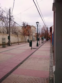 Rancagua | Paseo Estado Chile, Sidewalk, Country, Lakes, Mountain Range, Volcanoes, Rural Area, Side Walkway, Walkway