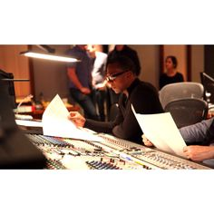 recording session at #warnerbrothers #jermainestegall