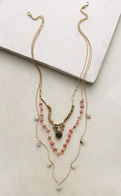 Semele Layer Necklace #anthrofave