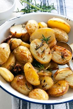 Simple Roast Potato Recipe  1 pan, 2 steps, delish!
