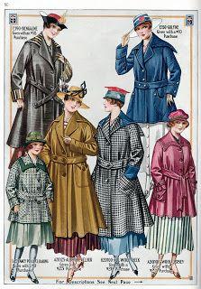 1917 Coats ~ The Vintage Moth