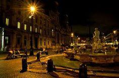 roma piazza navona di notte - Cerca con Google