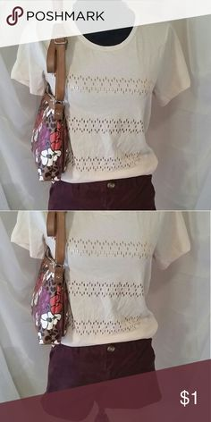 How cute is this? Everything you see is available in my closet.  Mix and match, bundle, make an offer!  I love to posh! Old Navy shorts size 6, J.Crew tank small and medium available, Relic crossbody bag. Other