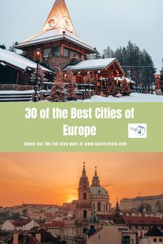 30 of the Best Cities of Europe to Visit - KarsTravels Road Trip Packing, Road Trip Europe, Road Trip Destinations, Road Trip Essentials, Road Trip Usa, City Breaks For Couples, Romantic City Breaks, Road Trip With Kids, Travel With Kids