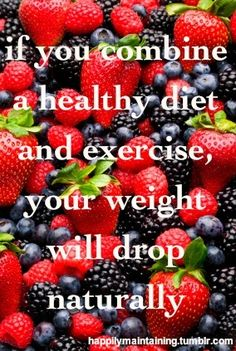 healthy diet & exercise