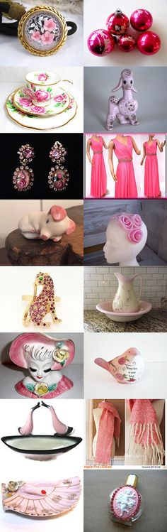 Perfectly Pink ~ Thrifty Vintage Team ~ by Sara on…