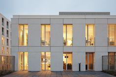 Photographe d'architecture : Immeuble de bureaux Skyline - Nantes - Ateliers 2/3/4/