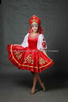 Aliexpress.com : Buy Russian Costume, Fancy Costume, Party Costume, Women Costume, Carnival Costume, National Costume, Holiday Costume from ...