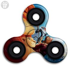 Tri-Spinner Fidget Spinner Fidget Toy Hand Spinner Fidget Spinner Simba Lion King Perfect For ADHD, Anxiety, And Autism Adult Children - Fidget spinner (*Amazon Partner-Link)
