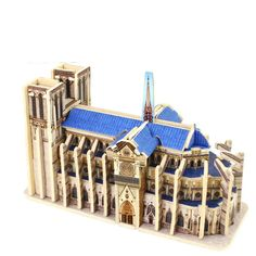 3D Wood Puzzles Cubic Wooden Puzzle World's Building Blocks Construction Kids Educational Toys Gift Notre Dame de Paris //Price: $21.82 & FREE Shipping //     #hashtag2