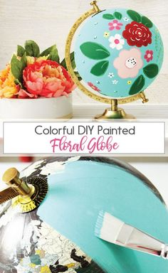 DIY Floral Painted G