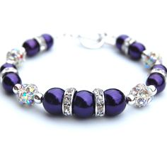 purple bracelets | Request a custom order and have something made just for you.