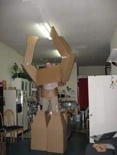 carboard suit 5.0 10