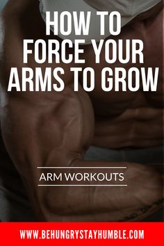 The Ultimate Arm Workout Grow Massive Biceps & Triceps is part of Arm workout - The key when training your arms in the gym is to keep it slow, not too heavy, and to always focus on the contraction with each rep Big Arm Workout, Killer Arm Workouts, Biceps Workout, Fun Workouts, Forearm Workout, Workout Routines, Workout Diet, Workout Plans, Ace Fitness