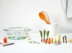 design culinaire I légumes I Images commandées par la marque de légume C'zon en collaboration avec Pauline Ricard-André et Anne veaute, sur les thèmes praticité, créativité, découverte, variété toute l'année, femme pressée.