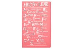 ABC's of Life Wooden Panel on OneKingsLane.com