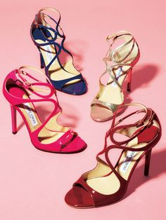 JIMMY CHOO 2013- shoe inspiration in one of the metallics