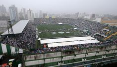 Special tents were arrested on the pitch to protect families from the driving rain that ha...