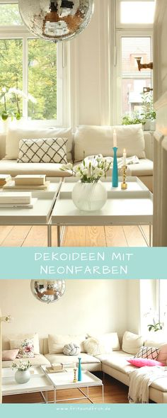 Wunderbar Dekoideen Mit Neonfarben Deko, Tischdeko, Kerzenleuchter, Applicata, Hay,  Neon, Ikea