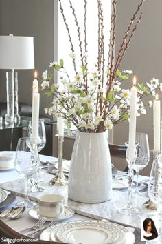 Setting the Table with Style  Tablescape Decor Tips!