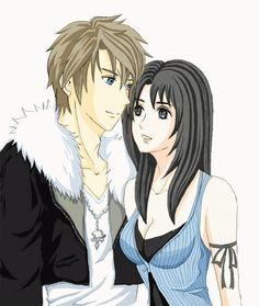 Squall and Rinoa Final Fantasy VIII