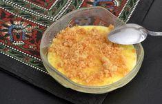 Βελούδινη κρέμα μαστίχας με μπισκότα ή κουλουράκια βουτύρου - cretangastronomy.gr
