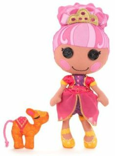 Lalaloopsy Soft Doll - Sahara Mirage by Lalaloopsy. $14.99. Each doll comes with their very own soft pet. Personalize your doll by writing  your name in the heart on her bottom. Original Lalaloopsy characters now have soft bodies. From the Manufacturer                Now your favorite whimsical and magical friends are huggably soft and cute as ever. Keep them by your side at bed time and hold them tight as you drift off to Lala loopsy Land.                           ...