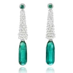 one-of-a-kind Chopard Cannes collection earrings