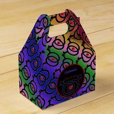 Shop Gay Marriage Love Is Love Rainbow Gable Favor Box created by BlueRose_Design. Love Rainbow, Rainbow Pride, Right To Choose, Feeling Special, Favor Boxes, Corporate Events, Favors, Presentation, Gay