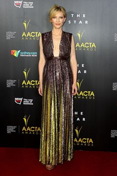 Cate Blanchett in Givenchy Gown at AACTA Awards