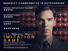The Imitation Game is a 2014 historical thriller film about British mathematician, logician, cryptanalyst and pioneering computer scientist Alan Turing who was a key figure in cracking Nazi Germany's naval Enigma code which helped the Allies win the Second World War, only to later be criminally prosecuted for his homosexuality. The film stars Benedict Cumberbatch as Turing, and is directed by Morten Tyldum, with a screenplay by Graham Moore based on the biography Alan Turing: The Enigma.