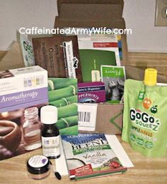 Ramblings of a Caffeinated Army Wife: Conscious Box July 2012 Review