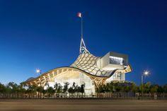 Ganhadores do RIBA Awards de 2012  (1) . . . .  Renzo centre pompedu curvas telhado madeira