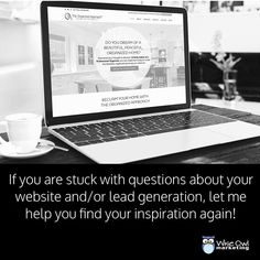 If you're stuck with questions about your website +/or lead generation let me help you find your inspiration again! http://bit.ly/2r7ai5L