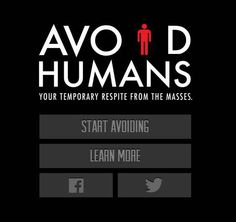 Avoid Humans shows you which bars and restaurants around you are the least crowded.