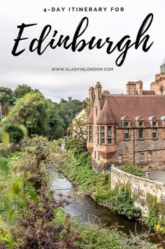 This travel itinerary for 4 days in Edinburgh, Scotland has the best Edinburgh itinerary for your trip to Scotland. It has everything from Edinburgh Castle to Edinburgh University and more. If you're looking for the best things to do in Edinburgh, this great Edinburgh itinerary has it all.