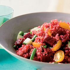 Quinoa Salad with Beets