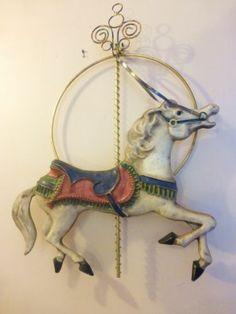 Mid Century Curtis Jere Horse Carousel Metal Wall Art Sculpture | eBay