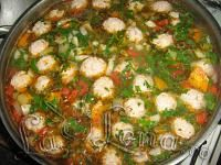 Romanian Food, Romanian Recipes, Soup Recipes, Cooking Recipes, Meatball Soup, Soups And Stews, Paella, Food Videos, Ale