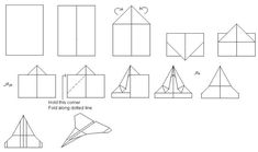 how to make paper airplanes for kids. Paper airplanes are an excellent to entertain kids also it can be an opportunity for them to learn something new.