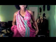 Here's a tutorial on the dress I wore in the Afros & Hair Texture Discrimination Video.  Enjoy!  =)    To find skirts like this one visit the following sites:    http://www.themagicskirt.com/Home.html    WEARING IN WINTER:  http://www.magicwrapskirts.com/Photos_Magic_Wraps_Skirts_Photo_Gallery.html    More sites:-    http://www.jedzebel.com/comp...