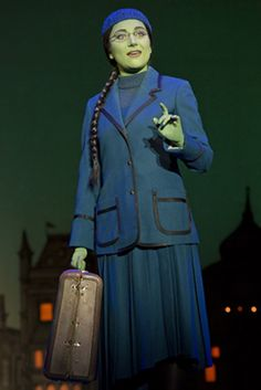 Laurel Harris as Elphaba in the Munchkinland Tour of Wicked. I'm seeing this company on Saturday in Edmonton!