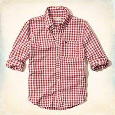 Camisa escocesa de popelina