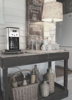 Coffee Station In Lobby Hair Pinterest Lobbies Coffee And - Coffee station table for sale
