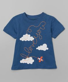 Look at this Navy 'I Love You' Tee - Infant & Toddler on #zulily today!