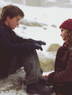 daniel jacob radcliffe (harry james potter) / emma charlotte duerre watson (hermione jean granger) (harry potter and prisoner of azkaban)