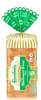 Gardenia: So Good You Can Even Eat It On Its Own Bread Packaging, Bakery Packaging, Packaging Design, Product Packaging, Packaging Ideas, Baker Logo, Food Design, Packing, Branding