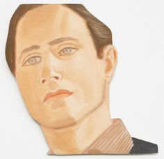 MoMA | The Collection | Alex Katz. Face of the Poet. 1977
