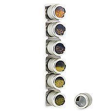 Kamenstein® Magnetic 6-Jar Spice Rack $19.99