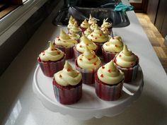 Red Velvet Cupcakes - homemade